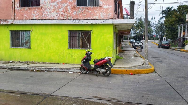 Tampico, мексиканськая улица стоковое изображение rf