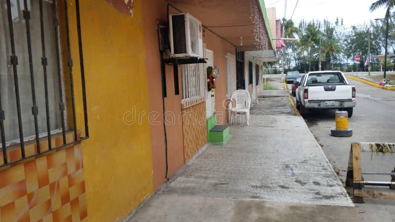 Tampico, мексиканськая улица стоковая фотография rf