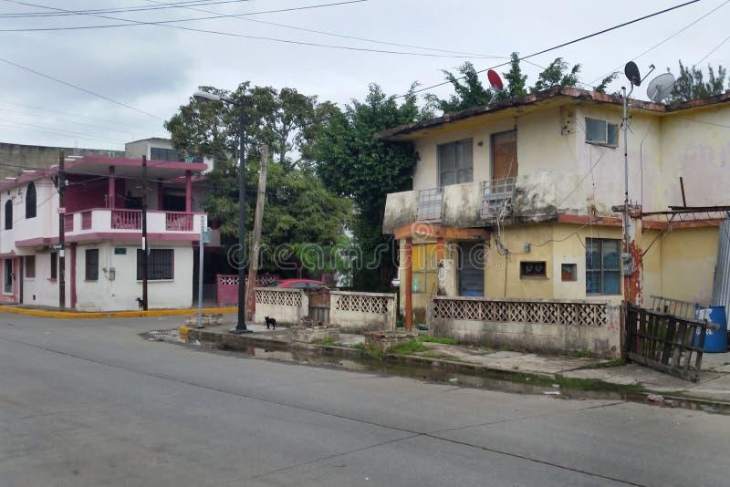 Tampico, мексиканськая улица стоковые фотографии rf