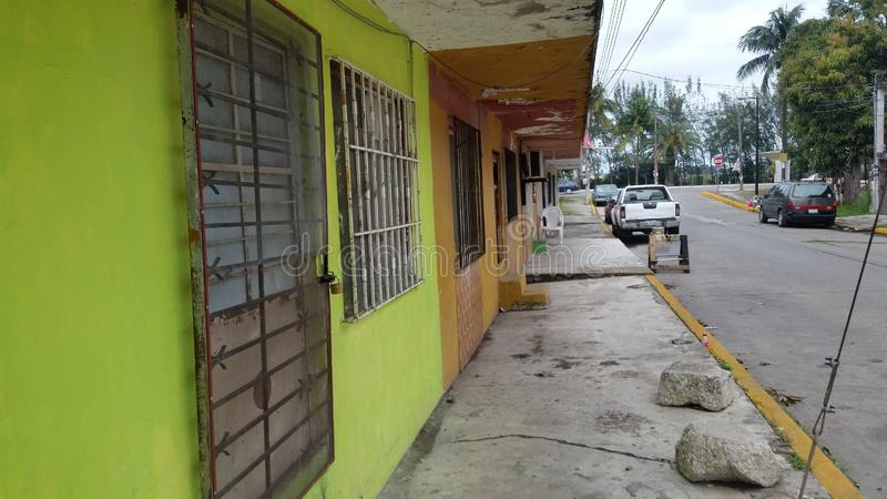 Tampico, Meksyk ulica fotografia royalty free