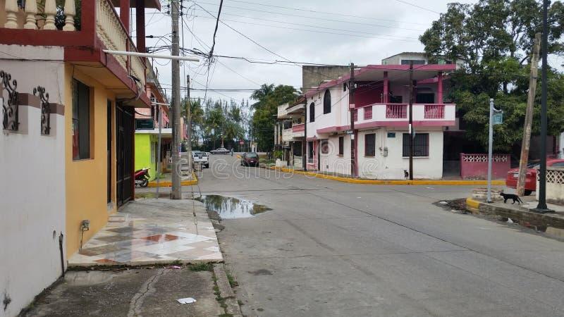 Tampico, Meksyk ulica obrazy stock
