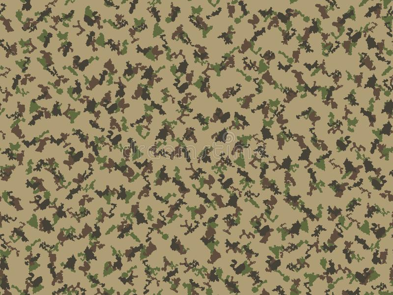 Tamplate militar de la impresión de la materia textil de la tela del backgound del vector moderno del extracto del ejército del f libre illustration