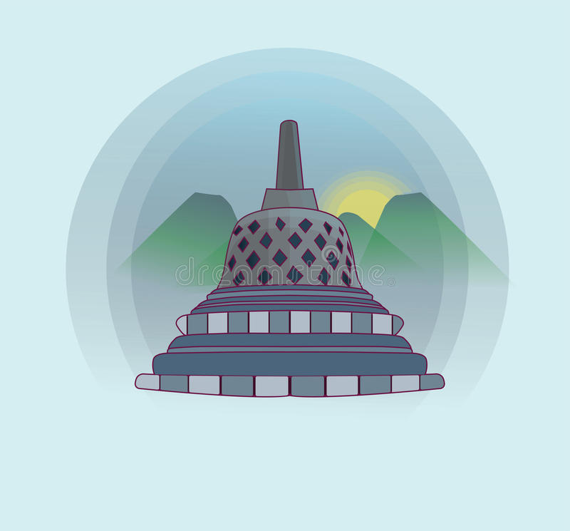 Tample de Borobudur libre illustration