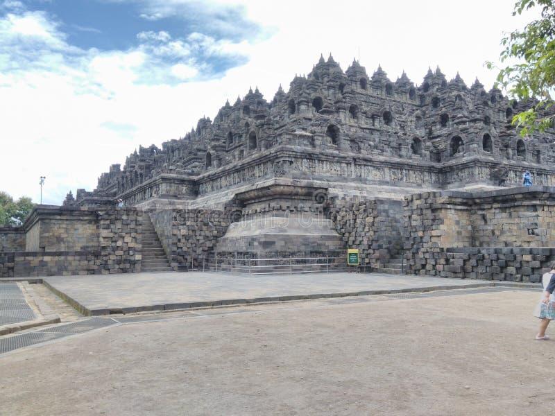 Tample di Borobudur fotografia stock libera da diritti