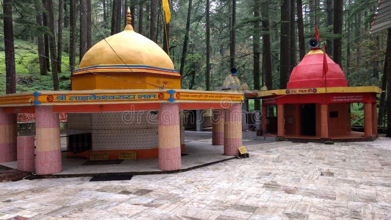 Tample garhwal de Tarakeswar de beau pyaro images libres de droits
