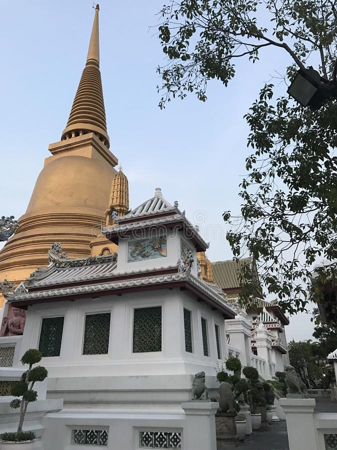 Tample. & pagoda at thailand royalty free stock images