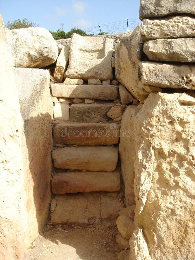 Tamples de Tarxien imagen de archivo