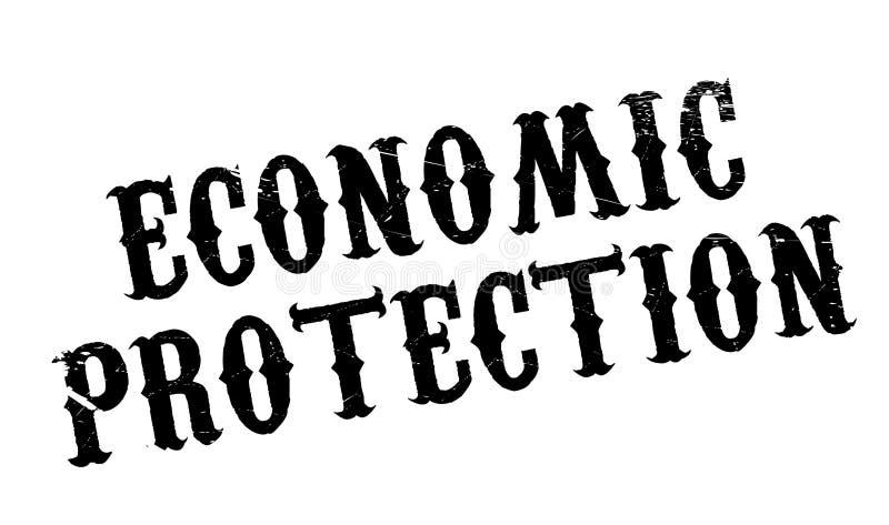 Tampon en caoutchouc économique de protection illustration stock