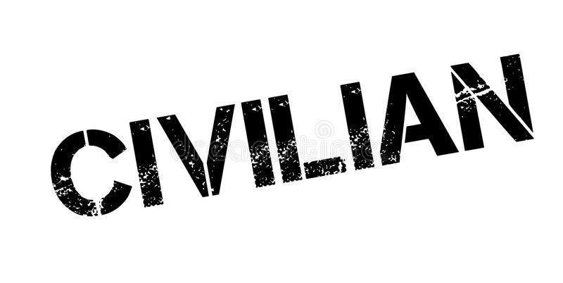 Tampon en caoutchouc civil illustration de vecteur