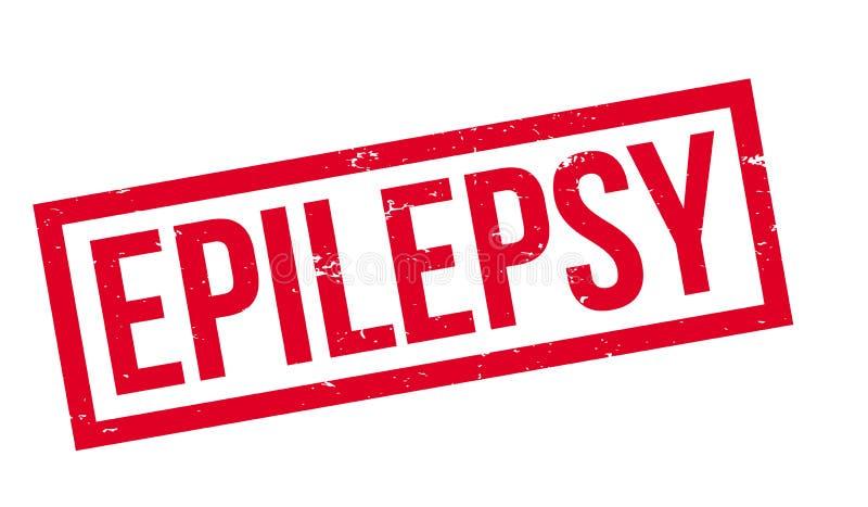 Tampon en caoutchouc d'épilepsie illustration libre de droits