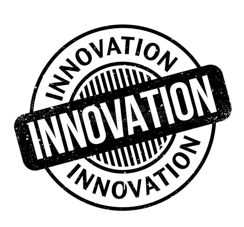 Tampon en caoutchouc d'innovation illustration de vecteur