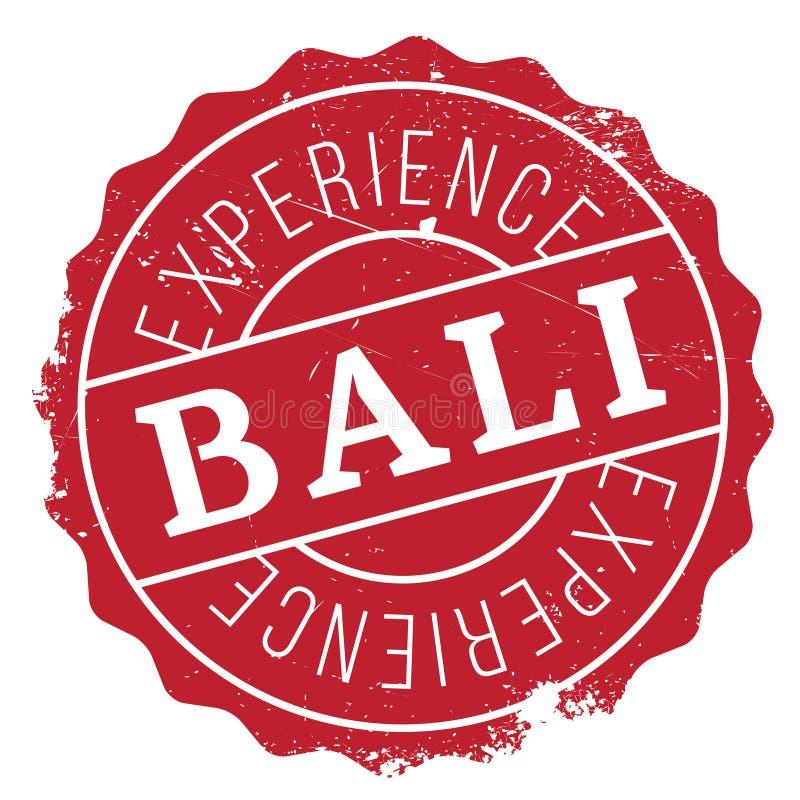 Tampon en caoutchouc de Bali illustration libre de droits