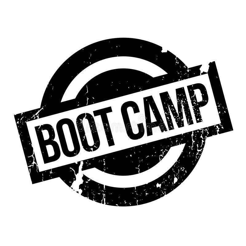 Tampon en caoutchouc de Boot Camp illustration libre de droits