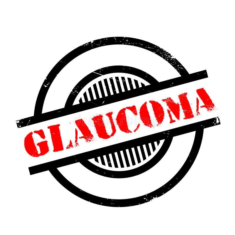 Tampon en caoutchouc de glaucome illustration de vecteur