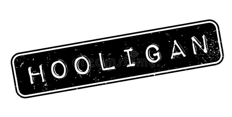 Tampon en caoutchouc de voyou illustration libre de droits