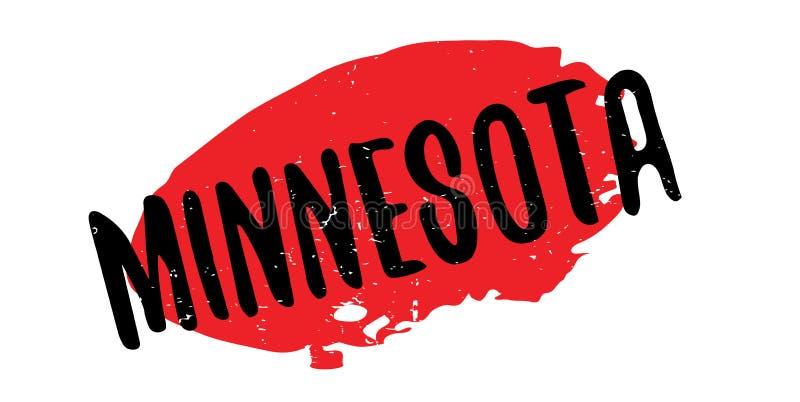 Tampon en caoutchouc du Minnesota illustration libre de droits