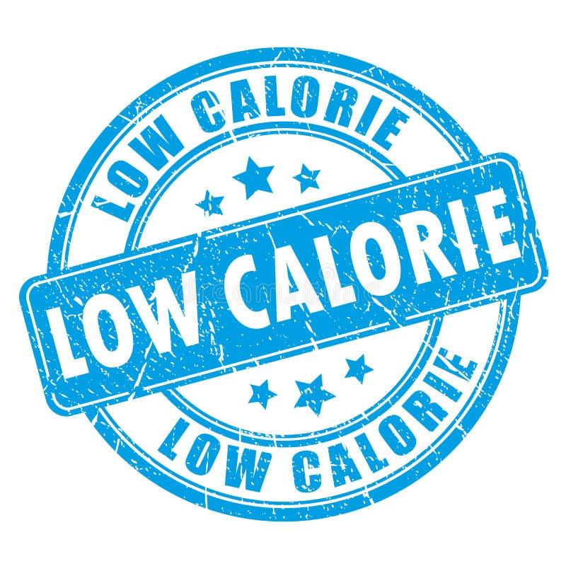Tampon en caoutchouc faible en calories illustration de vecteur