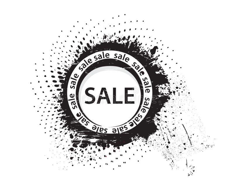 Tampon en caoutchouc grunge de vente illustration libre de droits