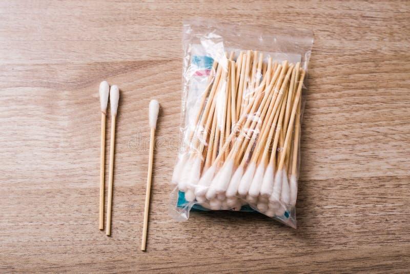 Tamponi di cotone immagine stock