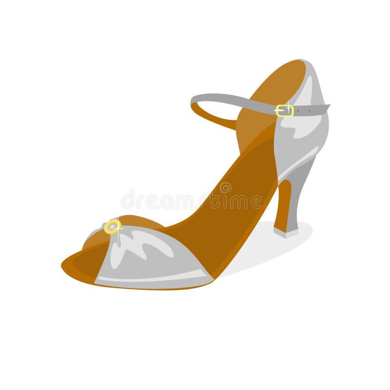 Tanów towarzyskich buty royalty ilustracja