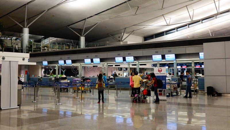 Tan儿子Nhat机场在西贡,越南 免版税库存图片