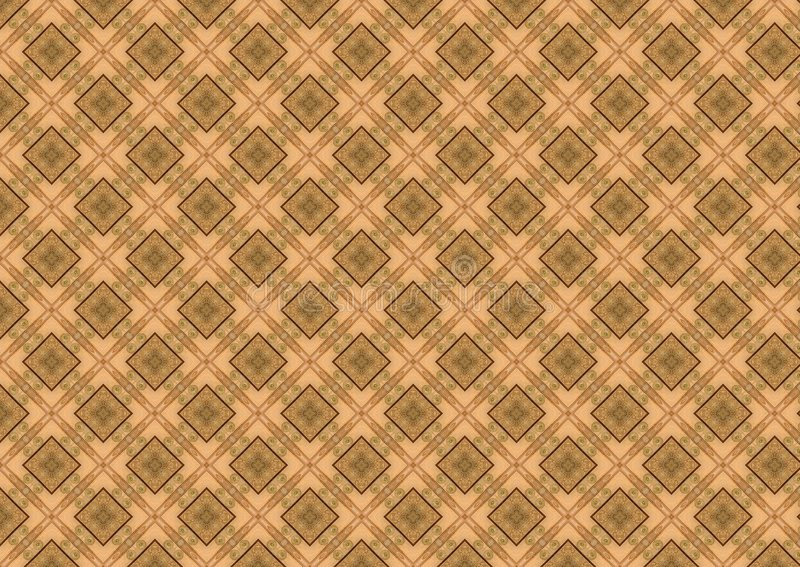 Tan Brown Diamond Pattern vector illustration
