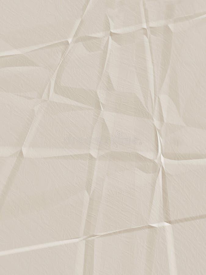 Free Tan Creased Paper Royalty Free Stock Image - 8103906