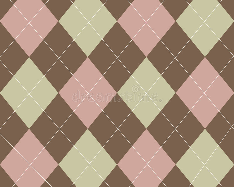 Download Tan, pink and brown argyle stock illustration. Illustration of trendy - 3602319