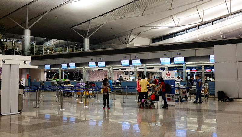 Tan Son Nhat Airport in Saigon, Vietnam royalty free stock image