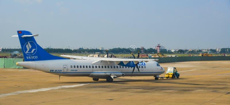 Tan Son Nhat-Flughafen in Saigon, Vietnam lizenzfreie stockfotografie