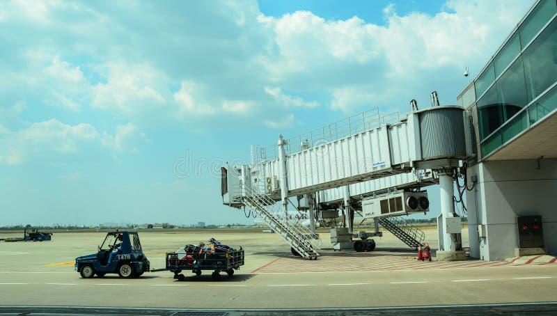 Tan Son Nhat International Airport in Saigon, Vietnam royalty-vrije stock afbeelding