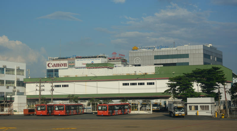 Tan Son Nhat International-luchthaven royalty-vrije stock fotografie