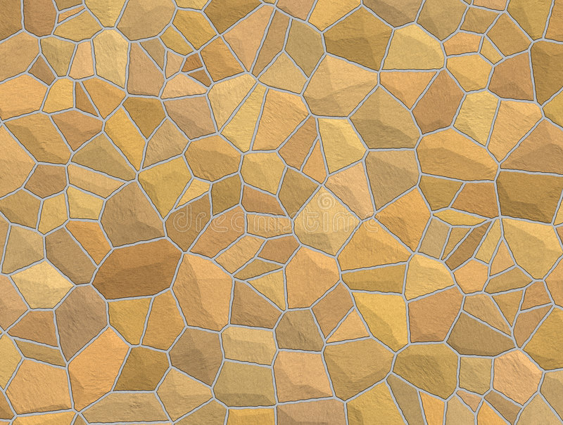 Download Tan Stone Wall stock illustration. Image of wall, rough - 6166709