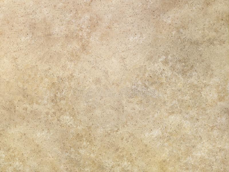 Tan travertine marble surface texture royalty free stock image