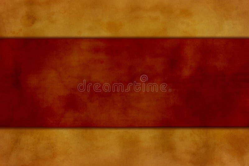 Tan und roter Hintergrund lizenzfreie abbildung