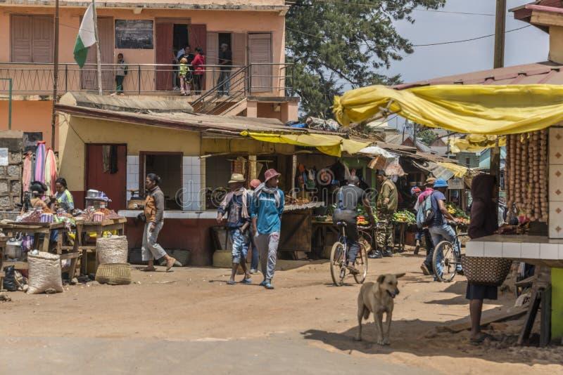 Tana-Antsirabe. From Tana to Antsirabe. Madagascar. Market royalty free stock photos