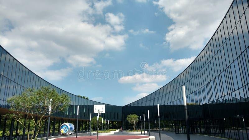 Tana haag1 di Sportcampus immagini stock libere da diritti
