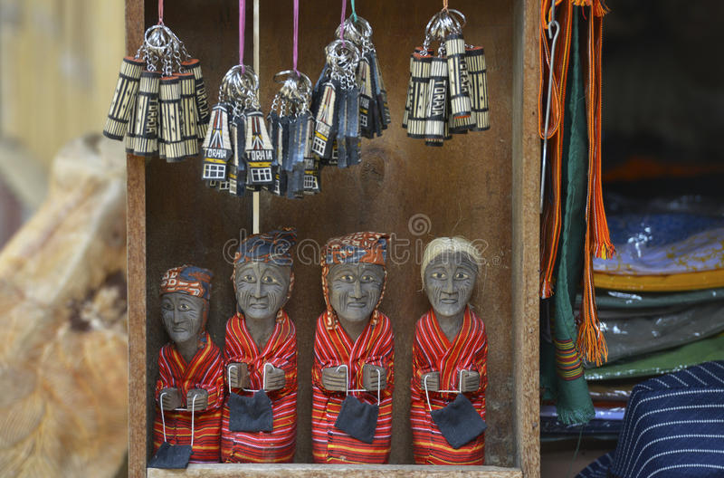 Tana Toraja, Sulawesi, Indonesië royalty-vrije stock foto's