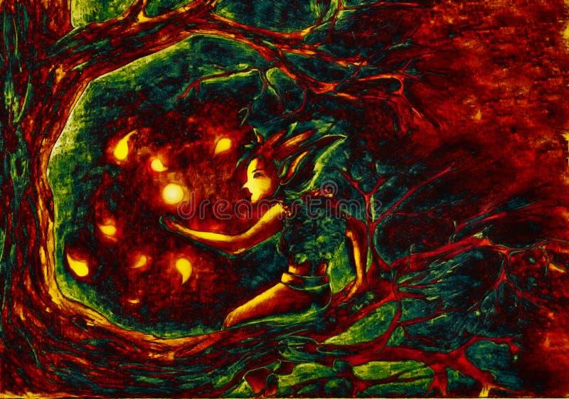 Download Tana świetlik ilustracji. Obraz złożonej z komarnicy, arte - 9957522