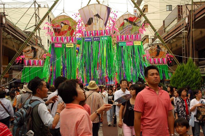 Tanabata星节日 免版税库存照片