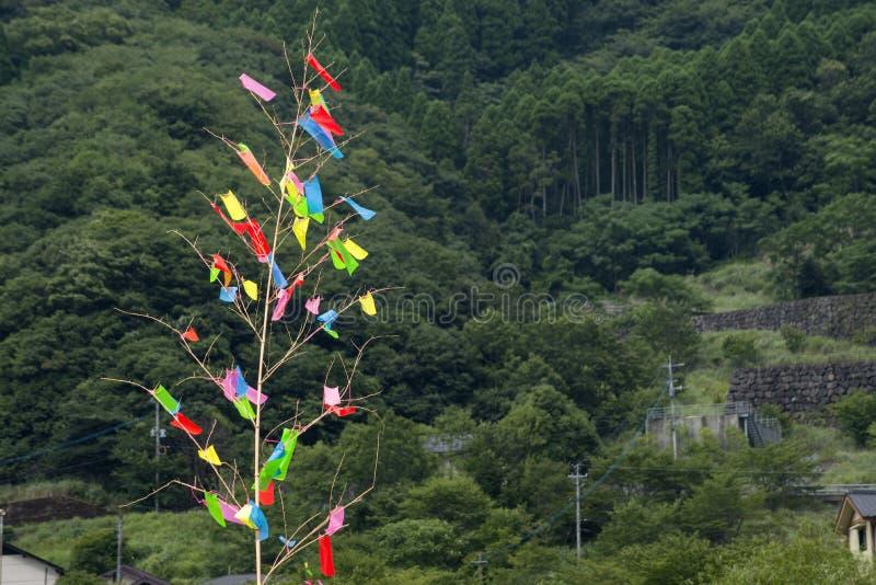 Tanabatadecoratie stock afbeeldingen