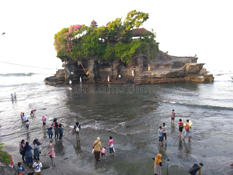 Tanah全部,巴厘岛 库存图片