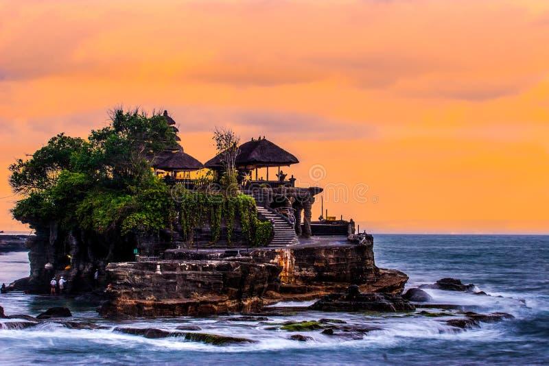 Tanah全部,巴厘岛 库存照片