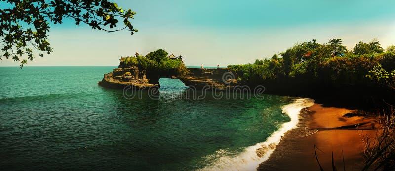 Tanah Lot, Bali stockbild