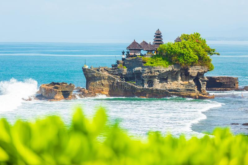 Tanah Lot. Bali, Indonesia stock photo
