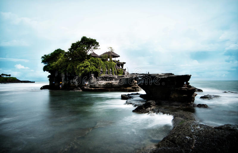 Tanah Lot Temple royalty free stock photos