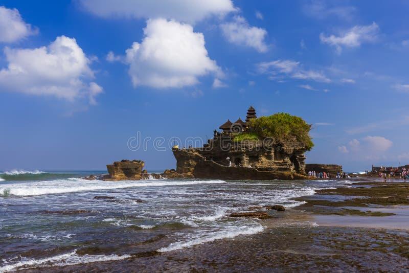 Tanah Lot Temple - Bali Indonésia foto de stock royalty free