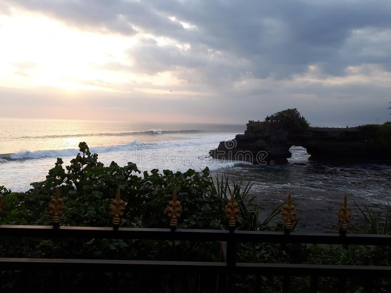 Tanahpartij Bali royalty-vrije stock foto's