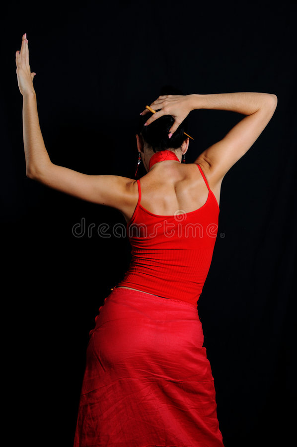 tancerkę flamenco zdjęcie royalty free