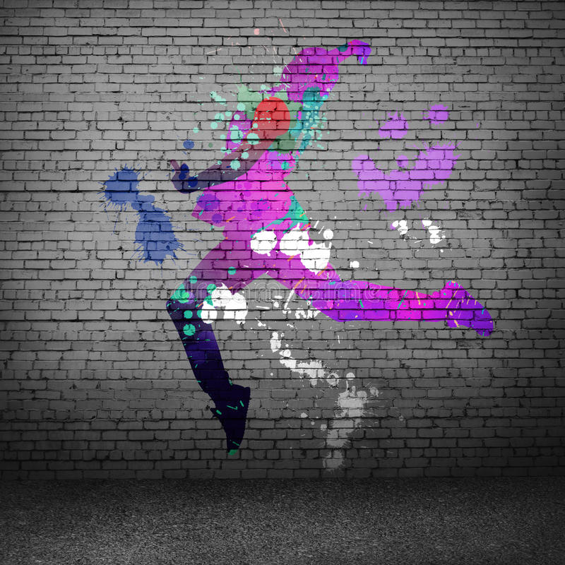 tancerka abstrakcyjne obrazy stock